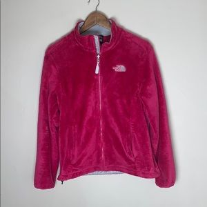 North Face Osito Jacket Pink